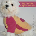 Dog Sweater Patterns (Raglan sleeve)