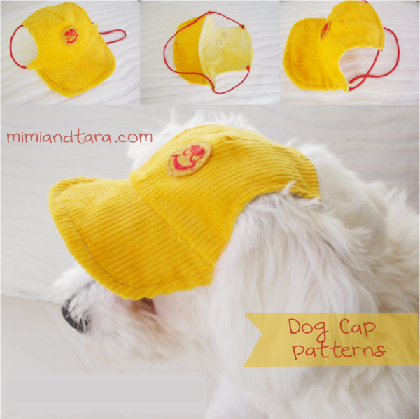 Dog cap pattern | FREE PDF DOWNLOAD
