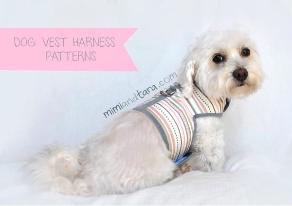 dog vest harness pattern