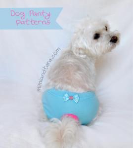 dog panty pattern