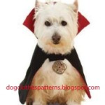 Count dracula dog cape patterns