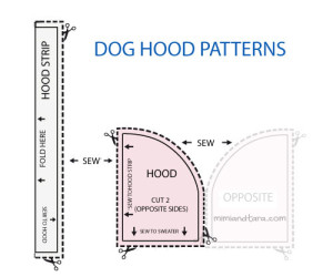 dog hood patterns