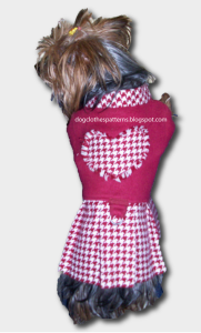 dog dress free patterns