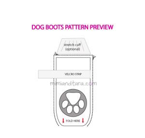 dog boots patterns
