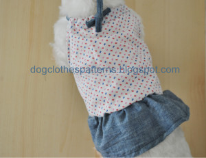 free dog clothes patterns dress
