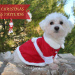 Dog christmas patterns