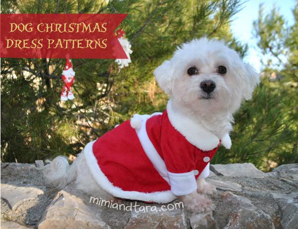 Dog christmas patterns