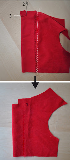 Sew dress xmas