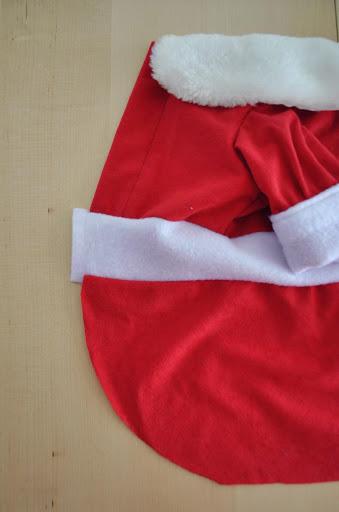 Sew waist strip