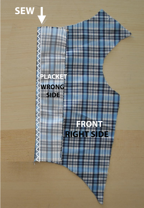 Attach Placket