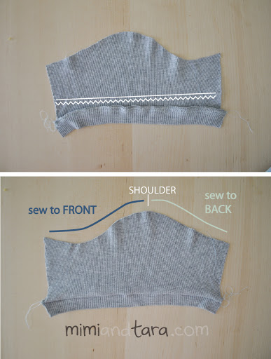Sweater sleeve pattern