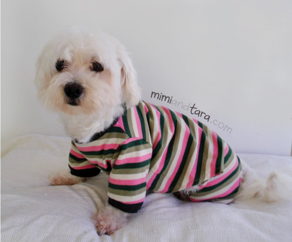dogs pajamas pattern