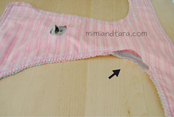 Sew dog nappy