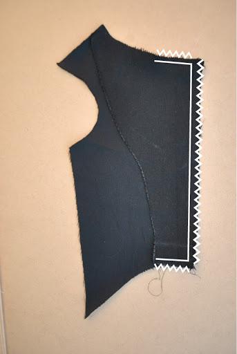 Sew tuxedo