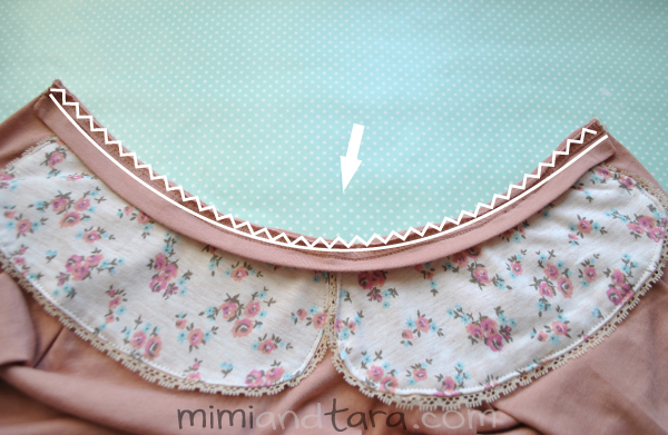 sewing peter pan collar