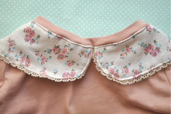 peter pan collar pajamas