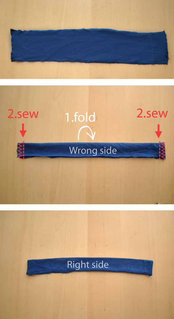 sewing neckband