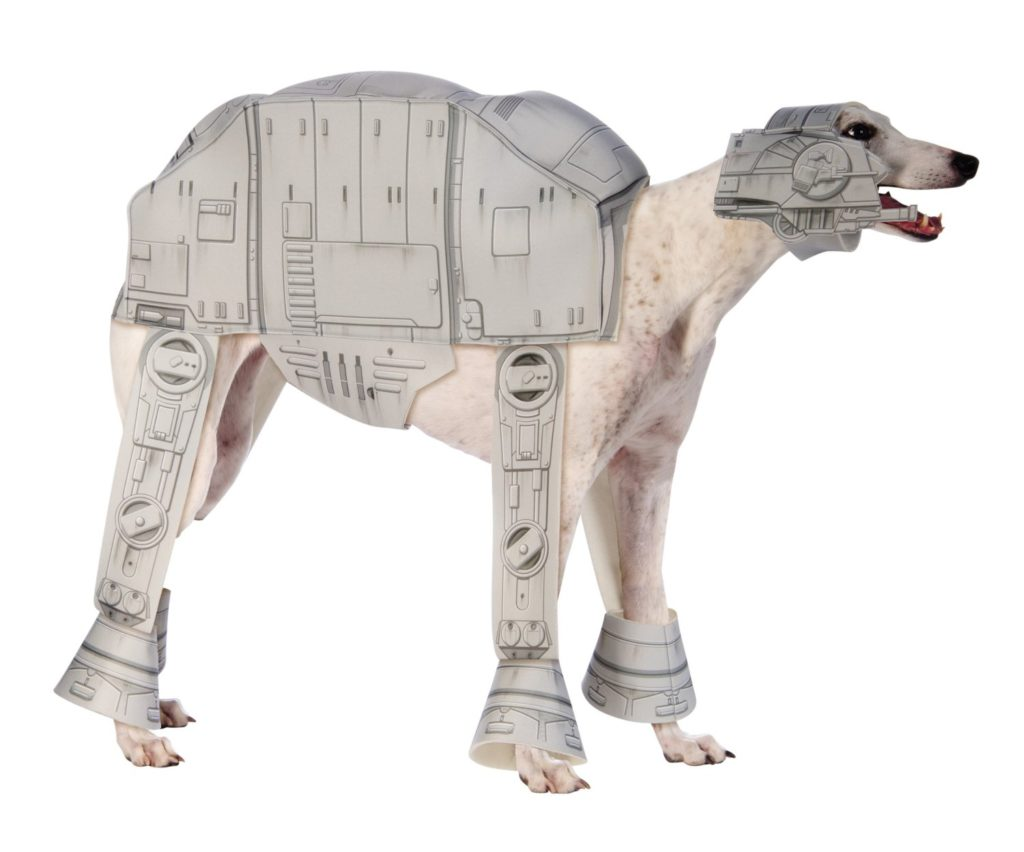 imperial walker dog costume