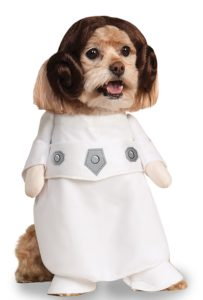 leia dog costume