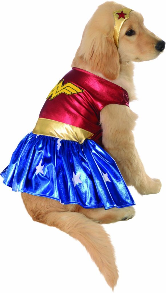 wonder woman dog costume