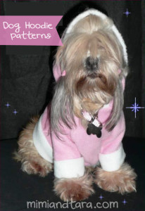 dog hoodie patterns