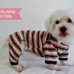 Dog pajamas pattern