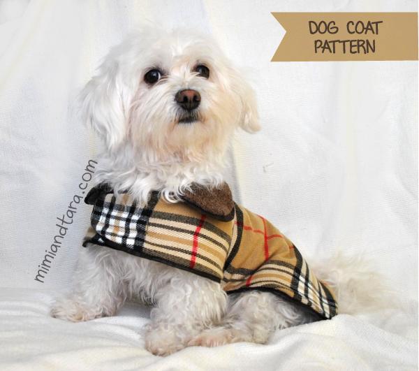 FREE Dog Clothes Patterns In Six Sizes Mimi Tara Magnificent Dog Jacket Pattern