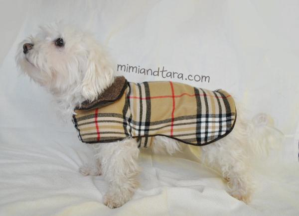Dog Coat Pattern PDF PATTERN Mimi Tara Adorable Dog Jacket Pattern
