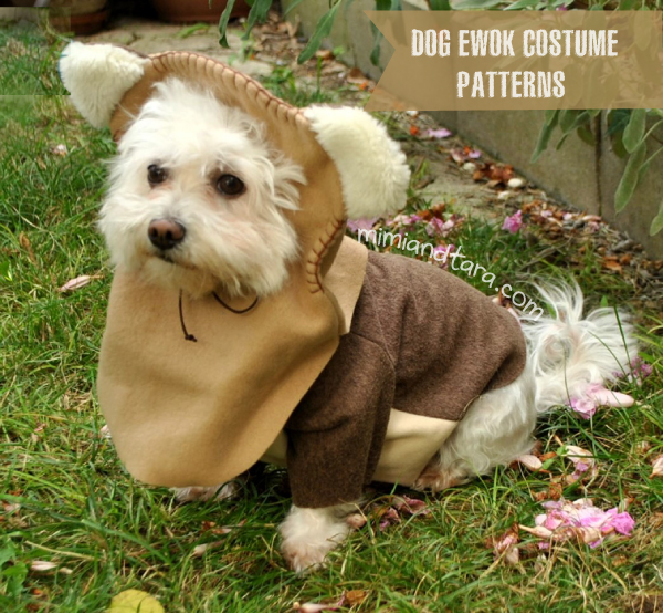 Easy Ewok Dog Costume Patterns Free To Download Mimitara