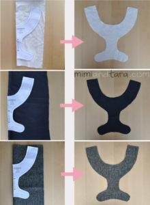 Dog Harness Patterns X on Fabric Dog Harness Pattern